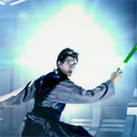 Star Wars Electronic Spinning Lightsaber Commercial