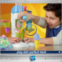 Vidéo: Play-Doh Perfect Twist
