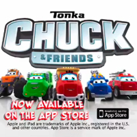 Chuck and Friends Friends for the Long Haul App Trailer