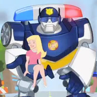 PLAYSKOOL Heroes Transformers Rescue Bots Trailer