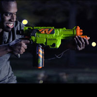 Nerf Vortex Lumitron Blaster - Inside Blast Video