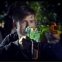 Nerf Vortex Lumitron Blaster - Light it Up Teaser Video