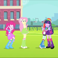 MY LITTLE PONY EQUESTRIA GIRLS Movie Trailer