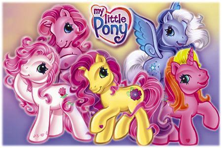 Малютка пони (My little Pony) .