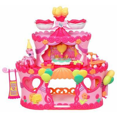 My Little Pony Ponyville Rollerskate Party Cake with Pinkie Pie Pony Reviews