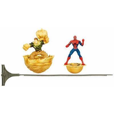 Spider-man Webworld Action Figure Spider-Man Vs Sandman Top
