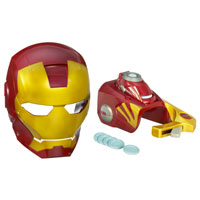 IRON MAN MASK & REPULSOR GAUNTLET ASST