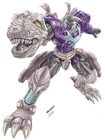 (��з��͡����) Transformers �Ҥ˹ѧ �������� Megatron-t-rex