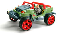MAJOR POWERS ULTIMATE ALL TERRAIN CRUISER Instructions