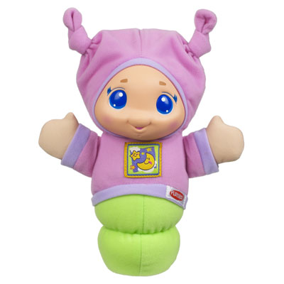PLAYSKOOL PLAY FAVORITES LULLABY GLOWORM (Pink)