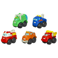 TONKA WHEEL PALS CHUCK AND PALS FLEET 5-Pack