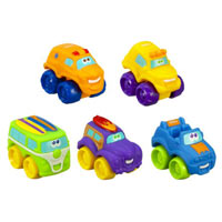 TONKA WHEEL PALS BEACH FLEET 5-Pack