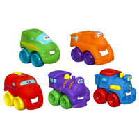 TONKA WHEEL PALS TRAIN FLEET 5-Pack
