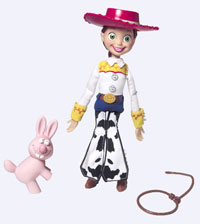 TOY STORY PULL STRING JESSIE Instructions
