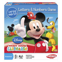 Mickey Mouse Clubhouse LETTERS & NUMBERS Game