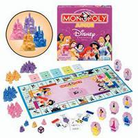 MONOPOLY Junior Disney Princess Edition Game