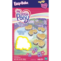 EASY BAKE MY LITTLE PONY Cookies Bake Set Instructions