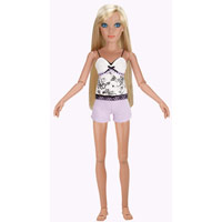 Lorifina doll -- Bronze skin, Blue eyes, Blonde straight