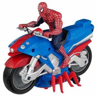 Spider-Man Bump 'N' Go Spider-Man Web Rider