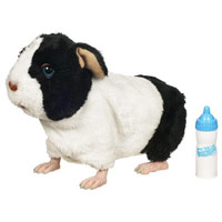 FURREAL FRIENDS Newborn Guinea Pig (Black and White)
