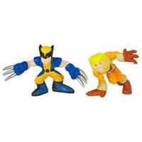 Marvel Super Hero Squad - Wolverine & Sabertooth Figures