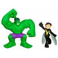 Marvel Super Hero Squad - Hulk and Wasp Figures