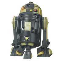 Star Wars The Clone Wars R3-S6 Goldie