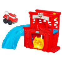 TONKA CHUCK AND FRIENDS PLAYSET DA VIAGGIO BOLIDI MORBIDOSI