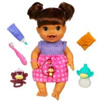 BABY ALIVE Baby's New Teeth Doll (Brunette)