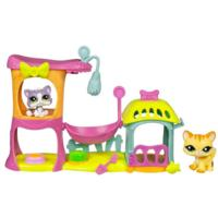 LITTLEST PET SHOP MEOW MANOR Playset