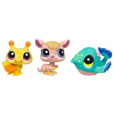 LITTLEST PET SHOP (Bumblebee, Kangaroo and Whale 3-Pack)