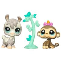 LITTLEST PET SHOP Prized Pets (Baby Monkey and Llama)
