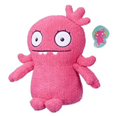 UglyDolls Yours Truly Moxy Stuffed Plush Toy, 9.75 inches tall
