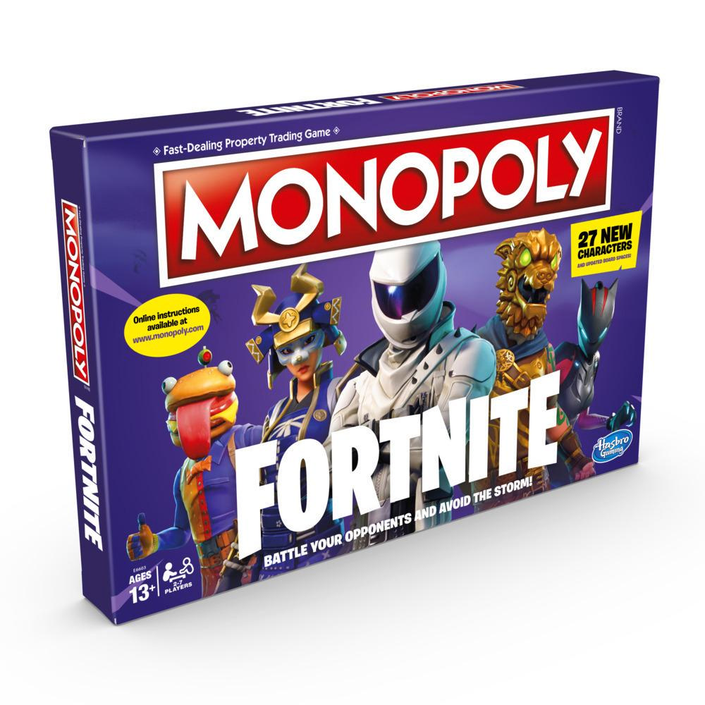 Игра Monopoly Fortnite