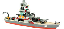 BATTLESHIP USS MISSOURI SET
