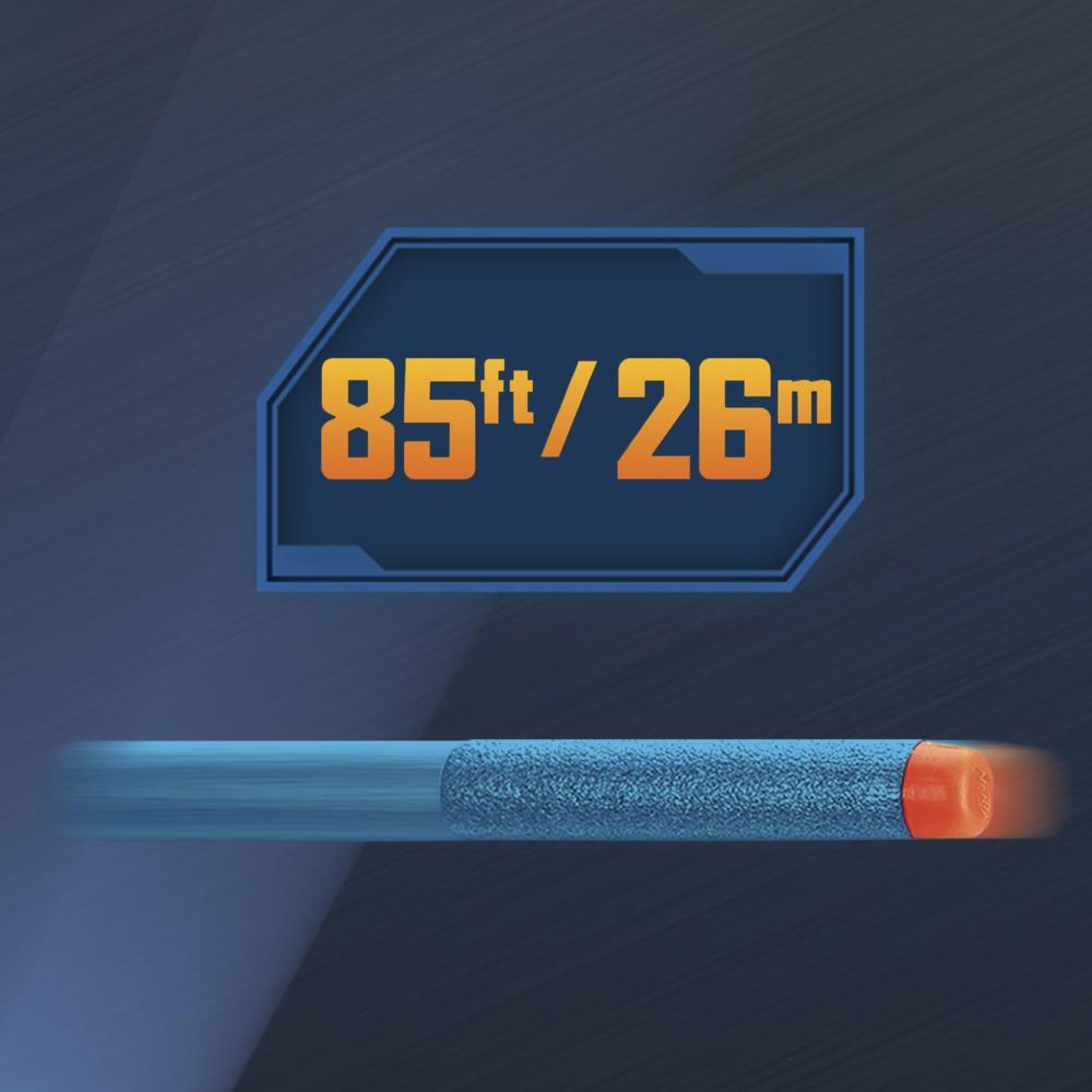 Nerf Elite2.0 Warden DB-8 Blástr, 16originálních šipek Nerf, vystřeluje dvě šipky najednou, taktická kolejnice, rychlá palba