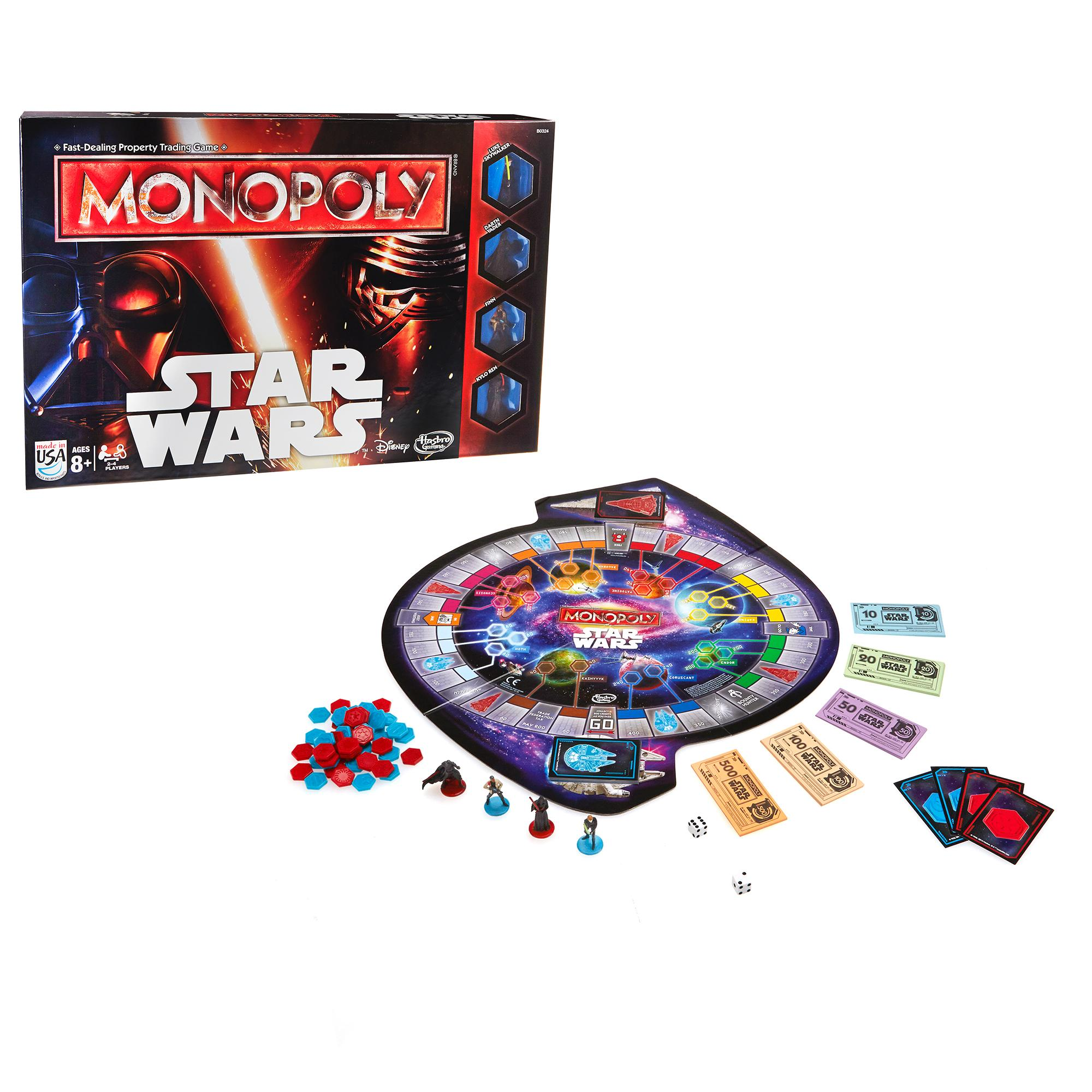 Hra Star Wars Monopoly