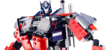 TRANSFORMERS OPTIMUS PRIME SET