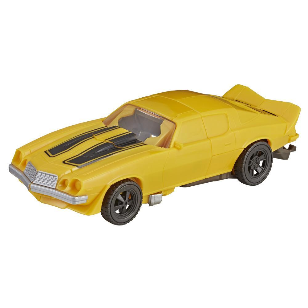 Transformers: Bumblebee Mission Vision Bumblebee Action Figure - Movie-Inspired Toy