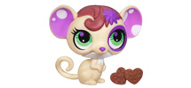 LITTLEST PET SHOP SWEETEST SNACKIN' PETS ASSORTMENT