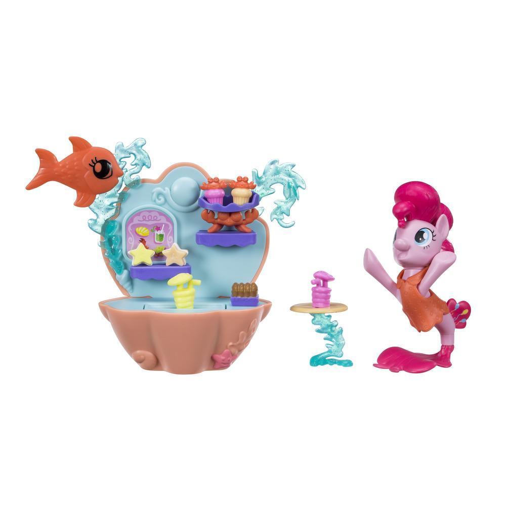 MLP Podmořský hrací set s poníkem 7,5cm asst
