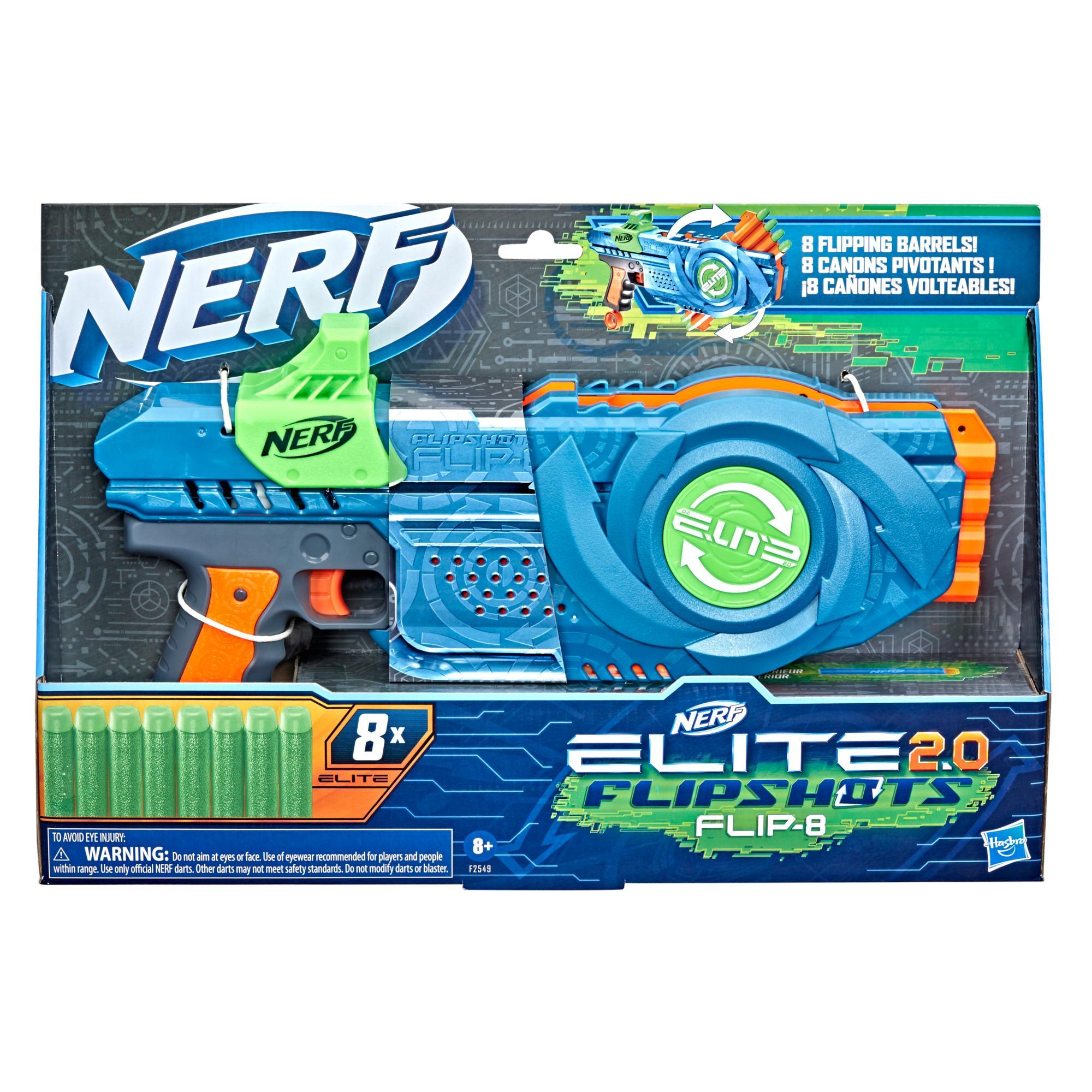 Blaster Nerf Elite2.0 Flipshots Flip-8
