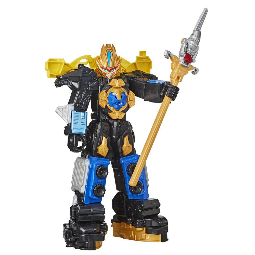 Power Rangers Beast Morphers Beast-X King Ultrazord-actionfigur med tilbehør