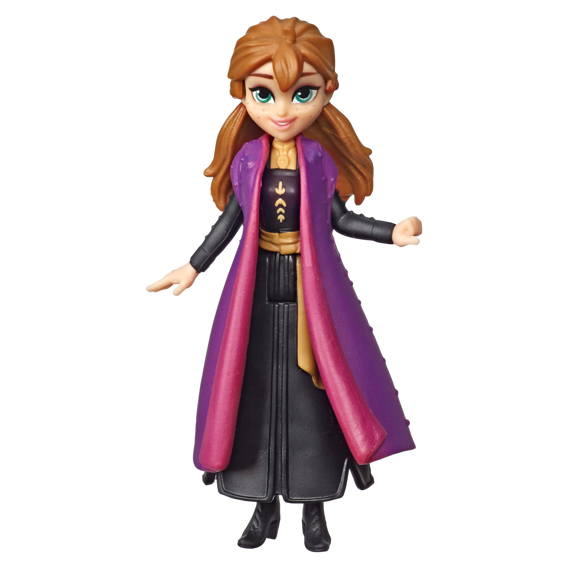 Disney Frozen Anna Small Doll With Removable Cape Inspired by Frozen 2