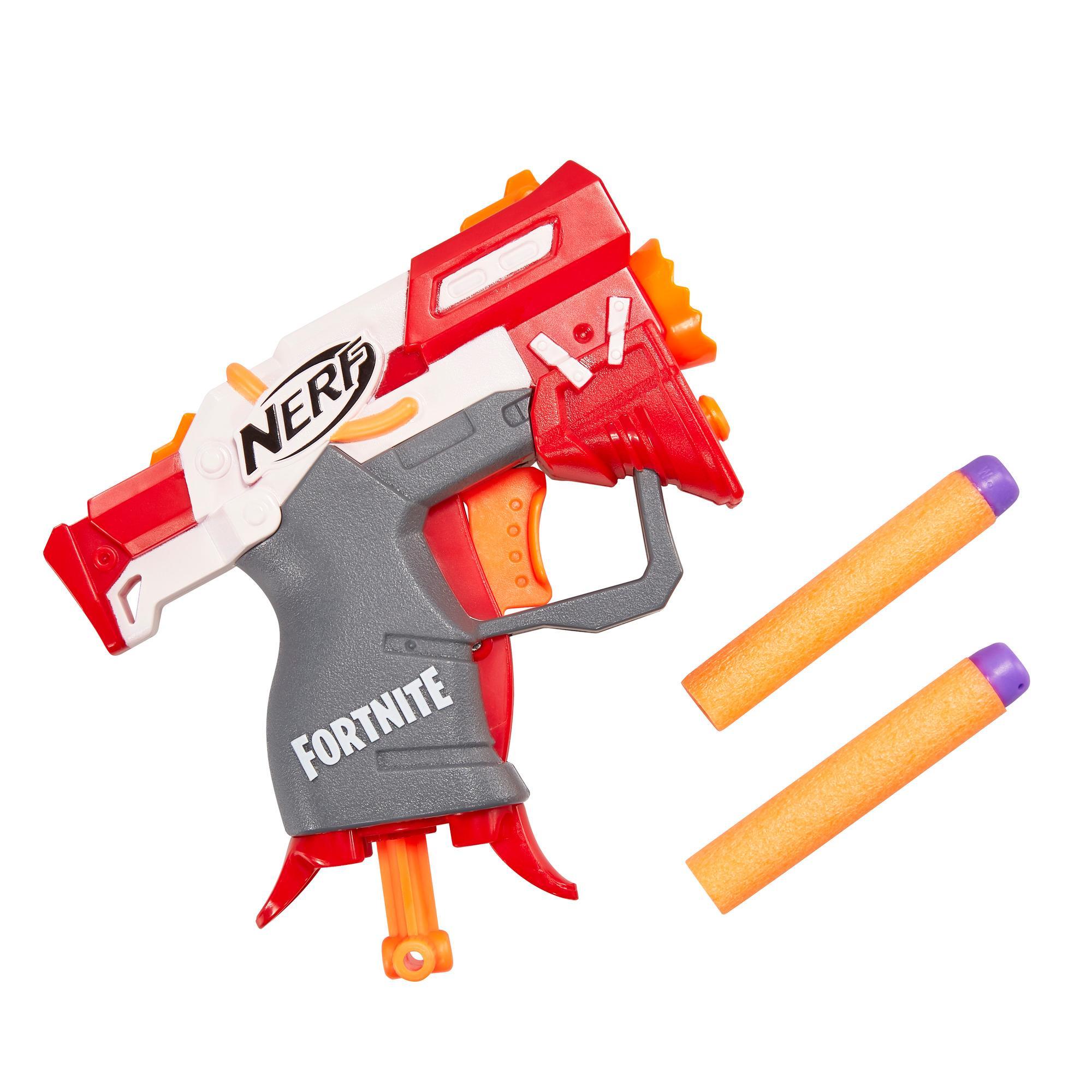 Fortnite TS Nerf MicroShots Dart-Firing Toy Blaster