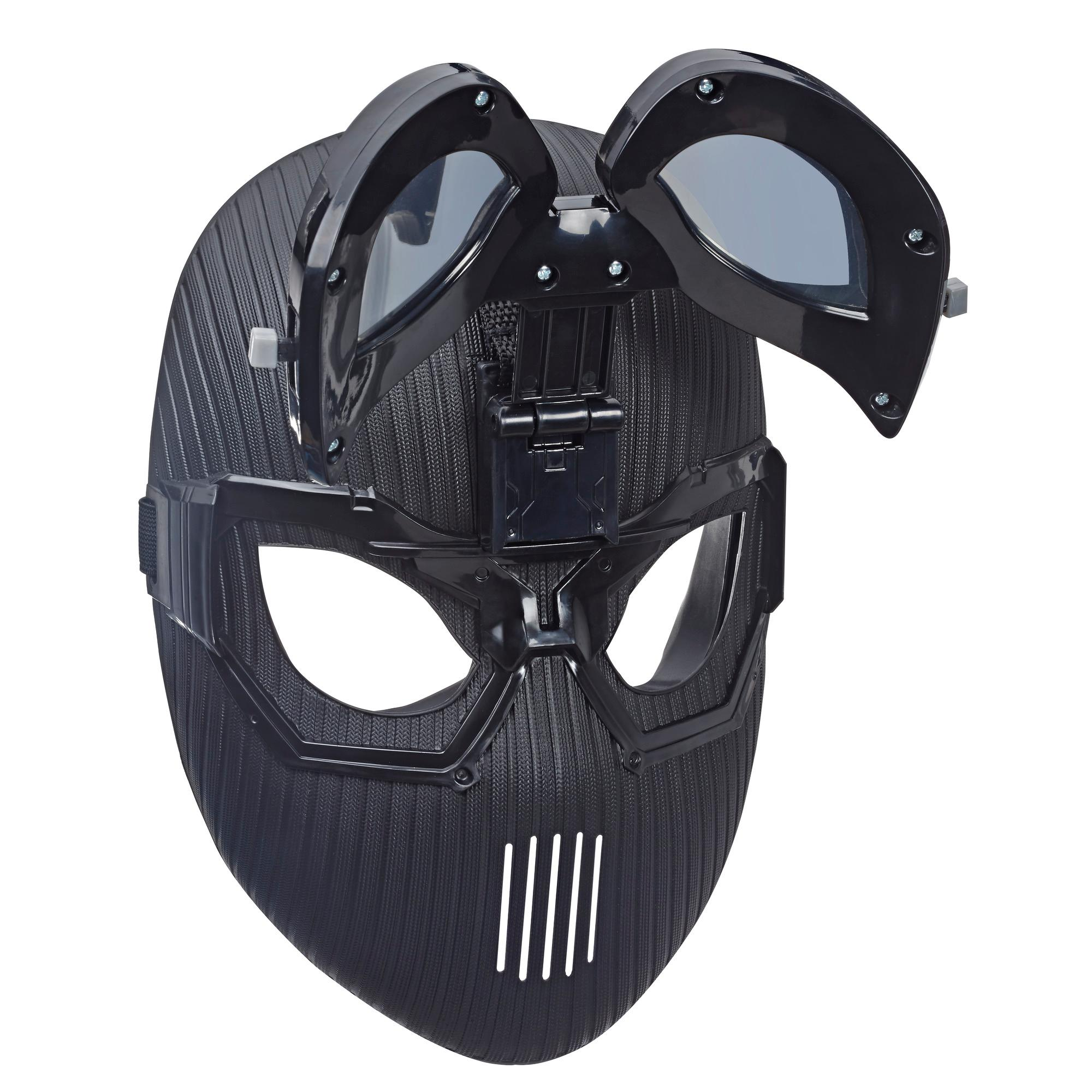 Marvel Spider-Man: Far From Home Spider-Man Stealth Suit Mask for Spider-Man Roleplay – Super Hero Mask Toy