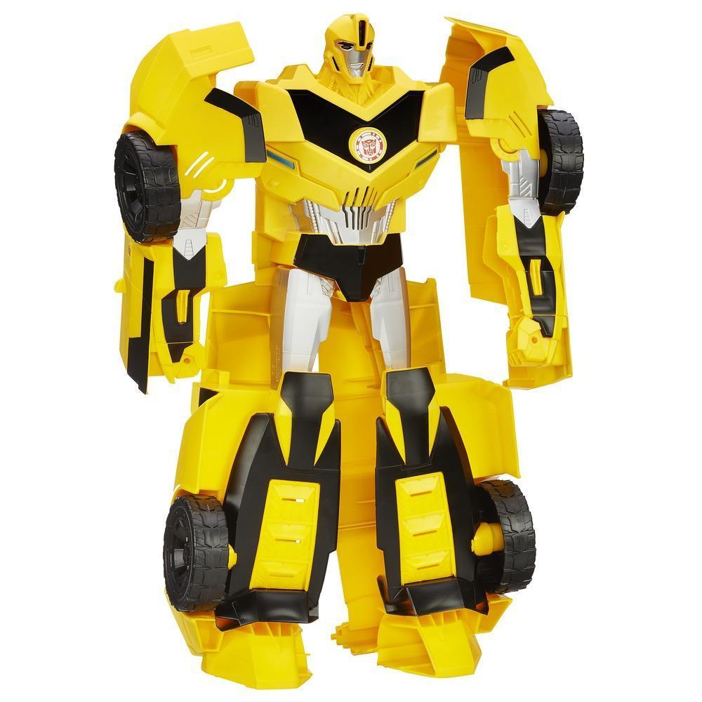 Transformers Robotter i Disguise Super Bumblebee figur