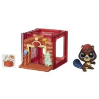 Littlest Pet Shop Mini Style Set with Beaver Figure