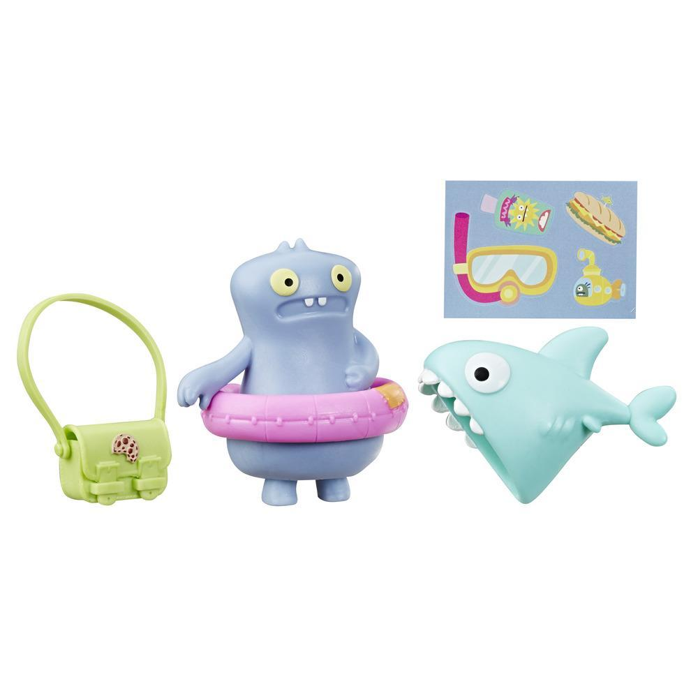 UglyDolls Surprise Disguise Beach Bum Babo Toy and Accessories, Inspired by UglyDolls Movie