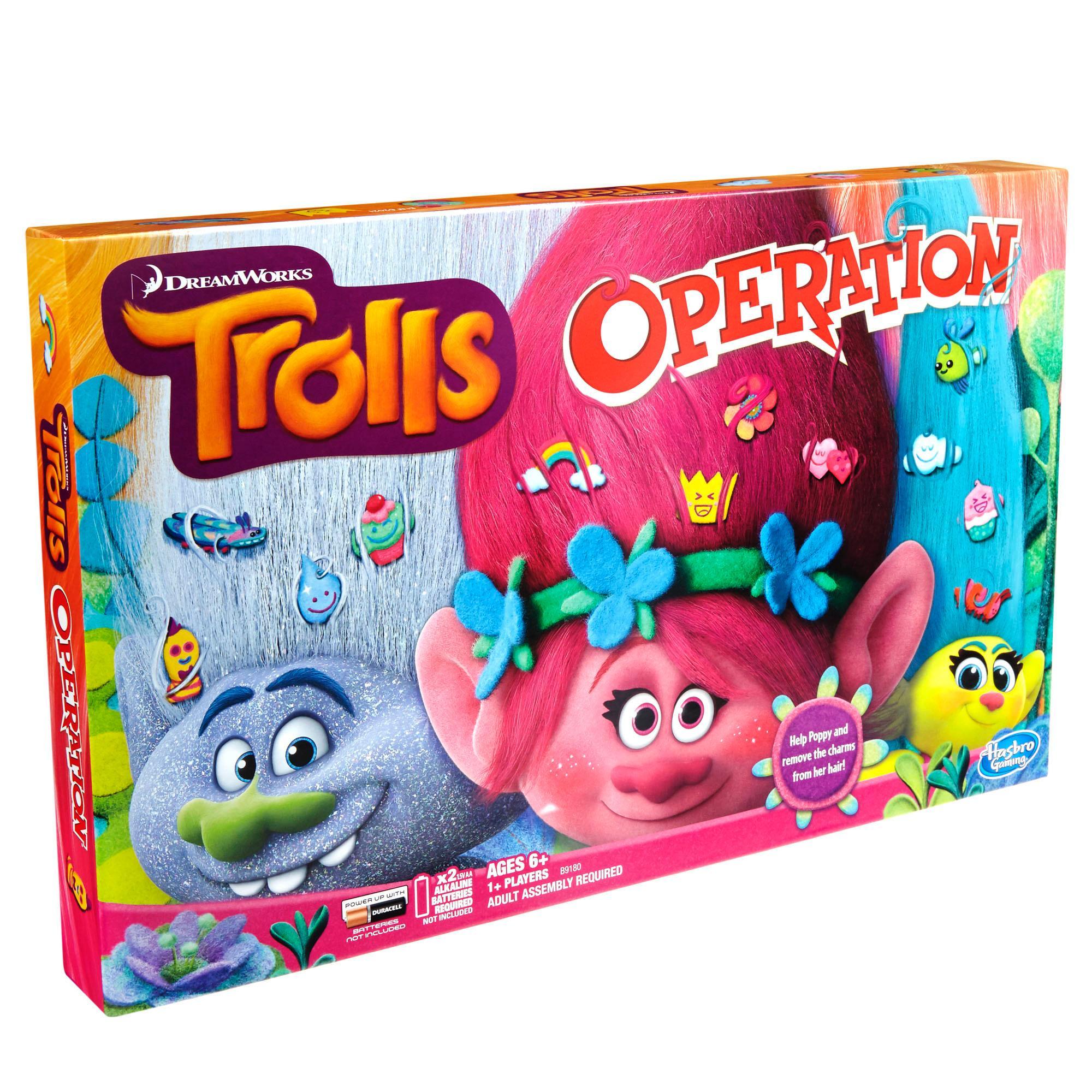 Operation Game: DreamWorks Trolls Edition